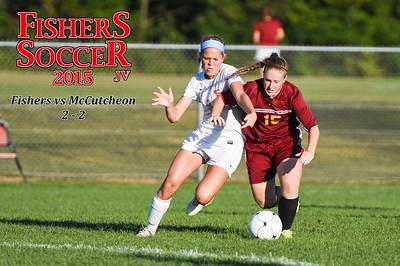 2015 Girls JV Soccer - McCutcheon