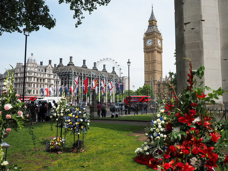 Parliament Square in London