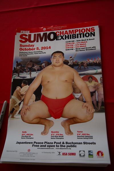 SUMO Exhibition SF