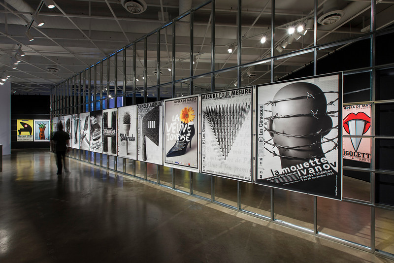 Gros plan - L'art de l'affiche de Michel Bouvet - photo: ©Michel Brunelle