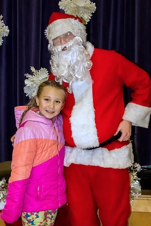SBES Santa Pictures