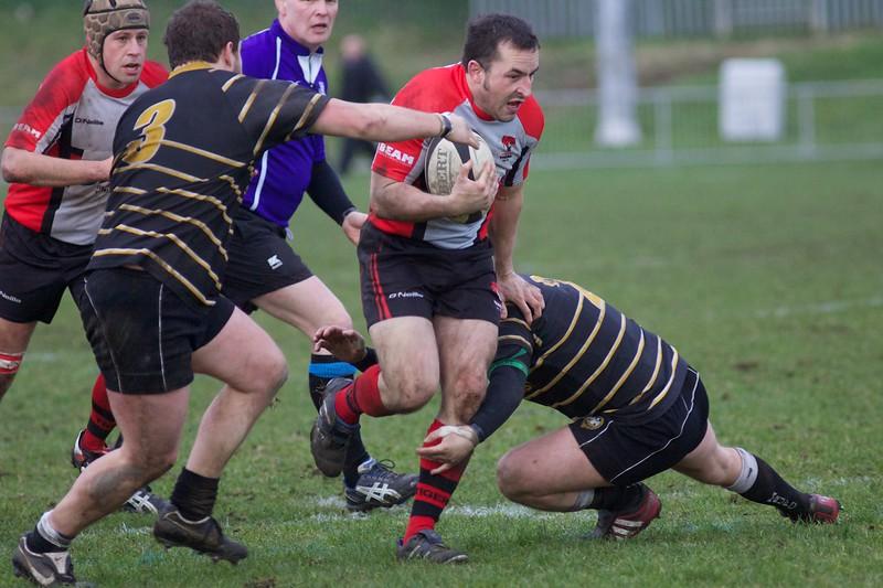 Richard Morris of Cheltenham Rugby V Marlow