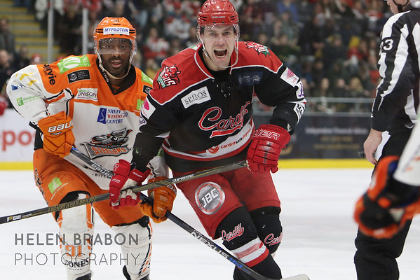 Cardiff Devils vs Sheffield Steelers 22-01-17