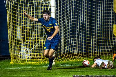 10-15-21 - Best of Michigan Men's Soccer Vs Wisconsin