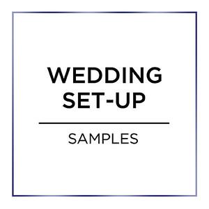 Wedding Photo Booth Set up