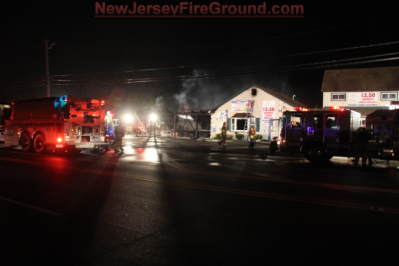 9-3-2012 (Gloucester County) MONROE TOWNSHIP - CECIL - 3845 S. Blackhorse Pike - Trio Tavern - Building Fire