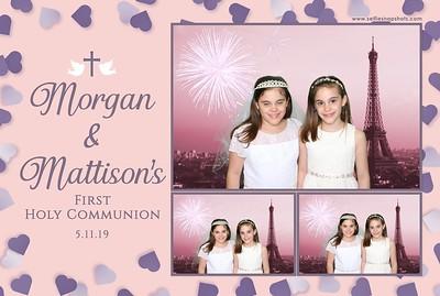 Morgan & Mattison's Communion 5.11.19