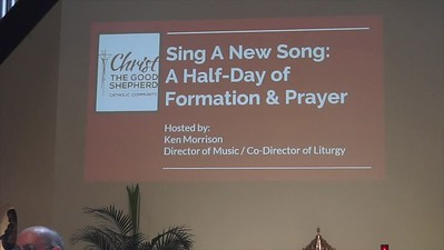 CGS MUSIC MINISTRY 9-8-18