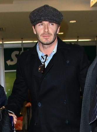 2011-02-13 - David Beckham and Victoria Beckham
