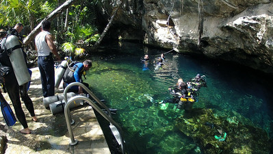 VIDEO BONUS - CHAC MOOL CENOTE