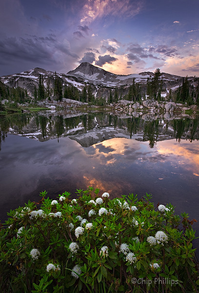 """Sunshine Lake Sunrise""