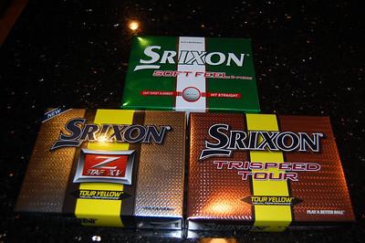 2011 Srixon Balls