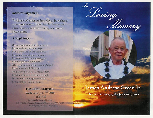 James Andrew Green Jr
