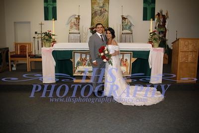 Bride and Groom/La novia y el novio