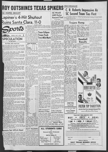 Daily Trojan, Vol. 46, No. 126, May 02, 1955