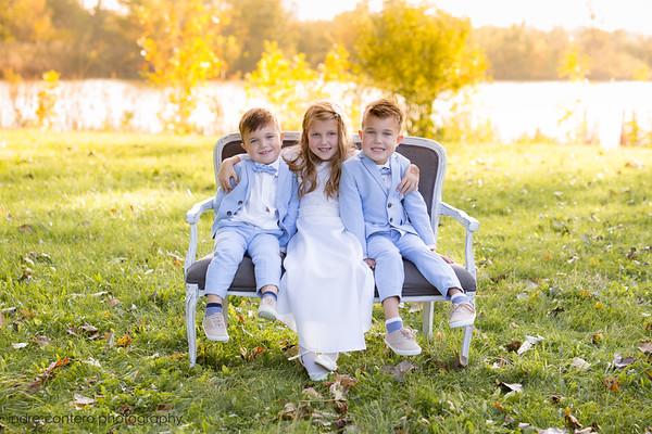 Sophia, Kajus, Lukas Baptism