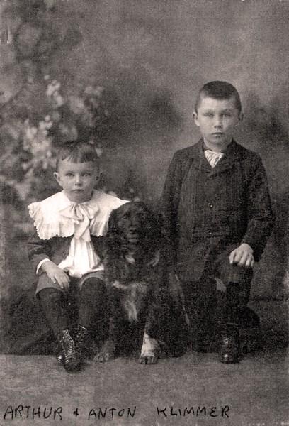 Arthur and Anton Klimmer