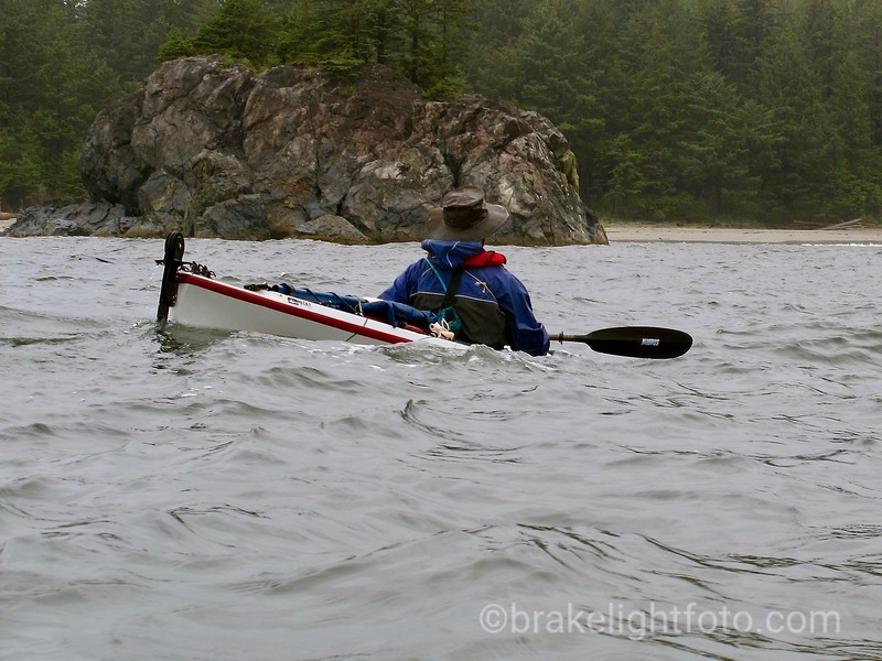 Approaching Third Beach on Nootka Island