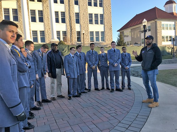 """Cadets take """"College Road Trip"""" to James Madison University"""