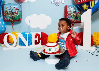 Zion's 1st Birthday