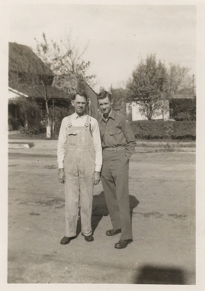 Lavoyda and Cecil, about Oct. of 1943.