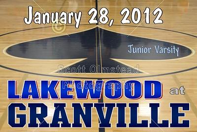 2012 Lakewood at Granville (01-28-12) JUNIOR VARSITY