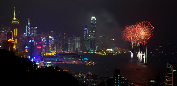 Fireworks, National Day 2007