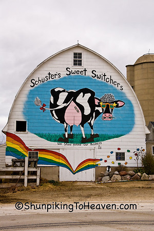 Barns with Murals