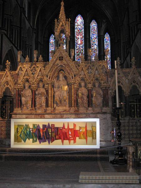 Altar, Worcester Cathedral