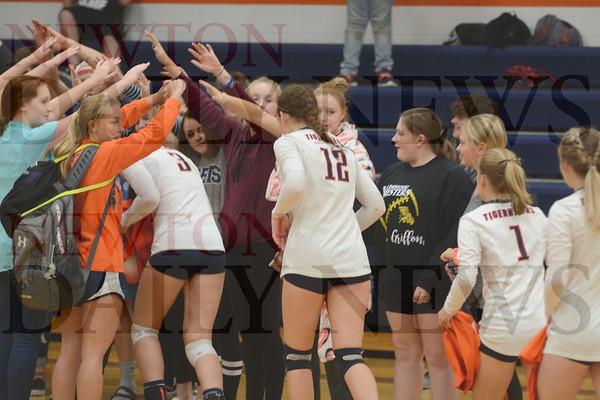 Colfax-Mingo Volleyball vs. Tri-County 10-3-19