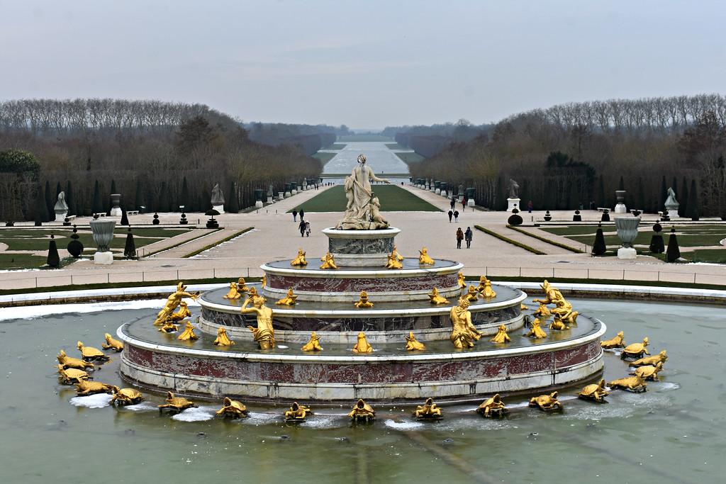 The Gardens at the Palace of Versailles,France