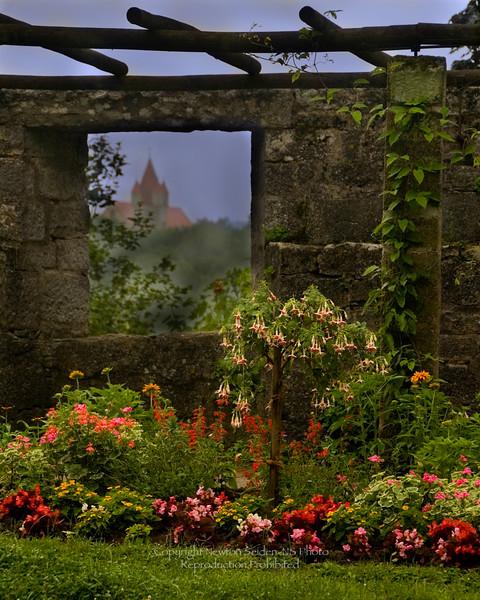 Rothenburg Garden Germany