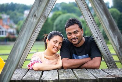 Rajib and Shomi, August 2019