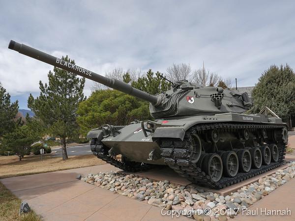 11th Armored Cavalry Regiment Memorial Park - Colorado Springs, CO - M60A3