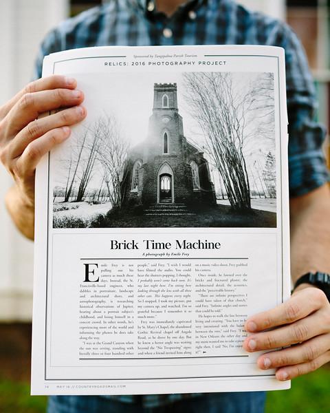 Country Roads Magazine - Brick Time Machine