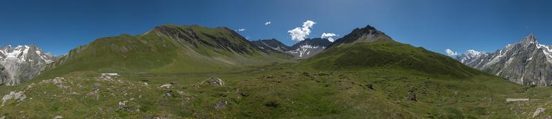 Vallone del Malatrà - Val Ferret, Courmayeur, Aosta, Italy - August 8, 2016