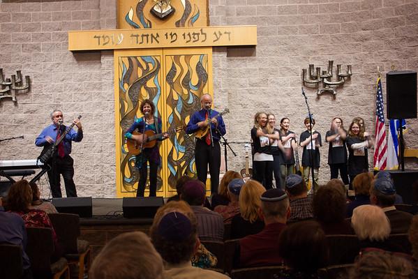 Hanukkah Concert & Dinner, December 2015
