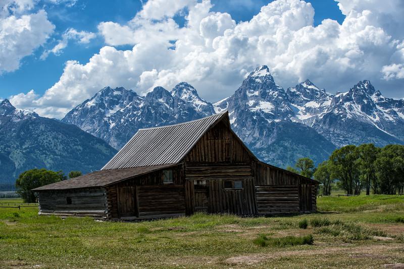 Moulton Barn, Grand Tetons National Park, Wyoming