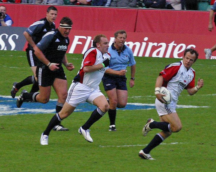 Johnno vs Jonah, Twickenham, 4 June 2005
