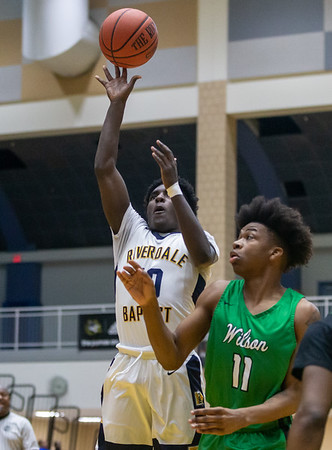 High School Boys Basketball: Riverdale Baptist vs. Wilson