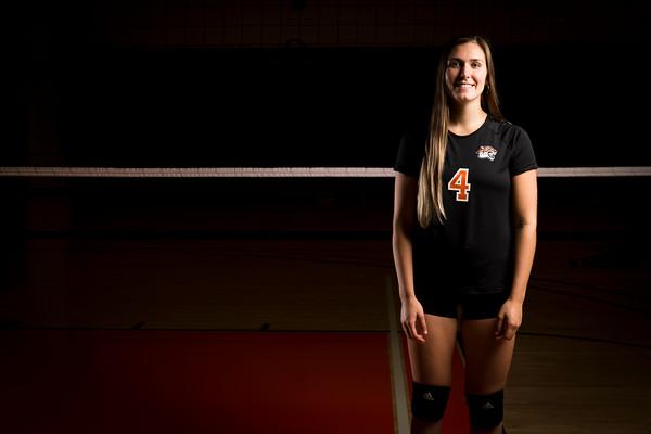 Women's Volleyball Portraits