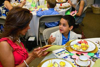 Kindergarten Mother's Day Tea, April 29, 2010