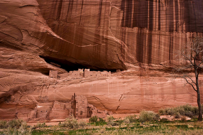 White House ancient dwelling, Canyon de Chelly