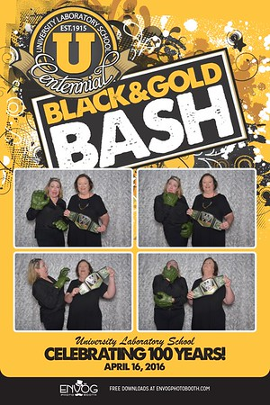 U-High's Black & Gold Bash (prints)