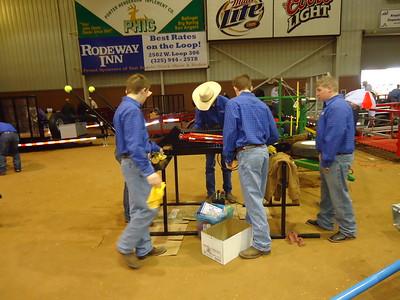 Celeste FFA Ag Mechanics Team Wins Awards at San Angelo Stock Show
