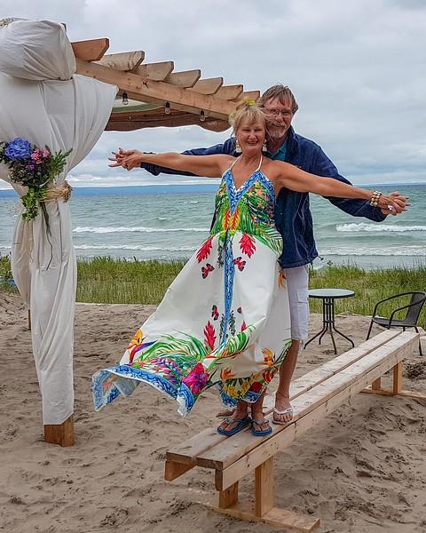 Susan & David's Wedding on the Beach