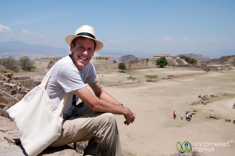 Dan at Monte Alban - Oaxaca, Mexico
