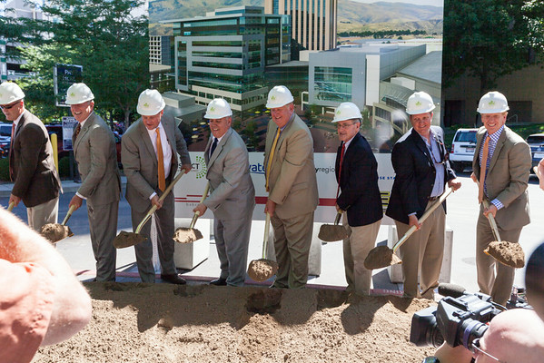 Boise City Center Ground Breaking Ceremony