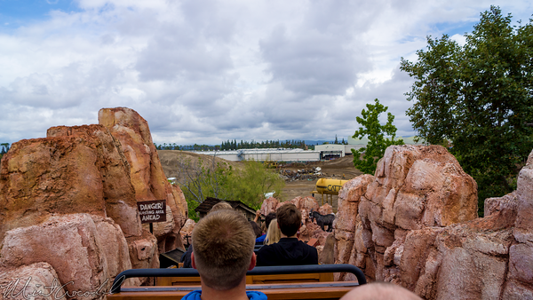 Disneyland Resort, Disneyland, Frontierland, Big, Thunder, Mountain, Railroad, Trail, Ranch, Jamboree, Star, Wars, Land, Construction