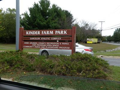 Running at Kinder Farm Park